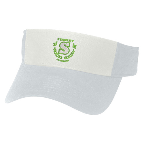 Hit-Dry Mesh Back Visor (00077-00); Primary; Decoration Type: Embroidery