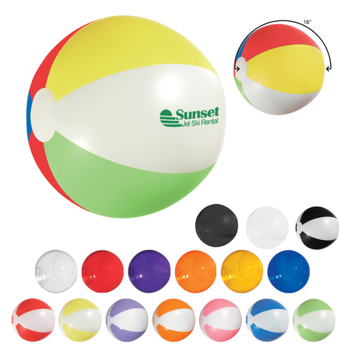 "16"" Beach Ball (00431-00); Primary; Decoration Type:"