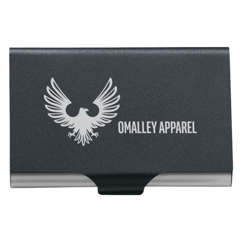 2-In-1 Key Tag/Business Card Holder (00485-00); Primary; Decoration Type: Laser Engraving
