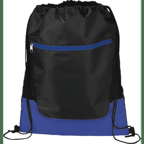 Libra Front Zipper Drawstring Bag (04637-01)