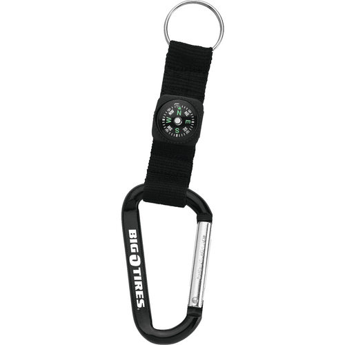 Carabiner With Compass (04879-01)