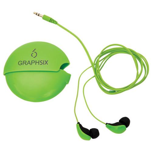Glow-In-The-Dark Earbuds W/ Case (04964-01)