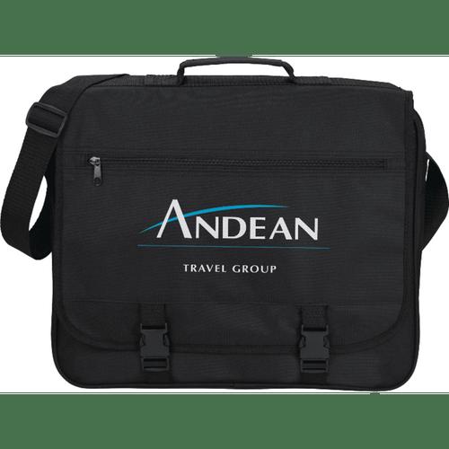 Anchorage Double Clip Messenger Bag (05065-01)