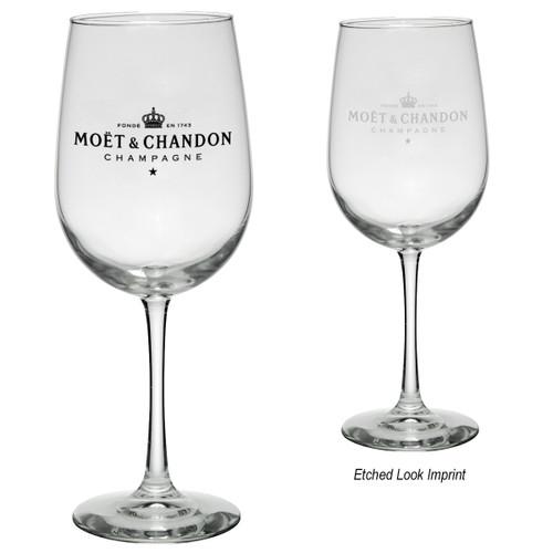 19 Oz. Tall Wine Glass (01329-00); Primary; Decoration Type: