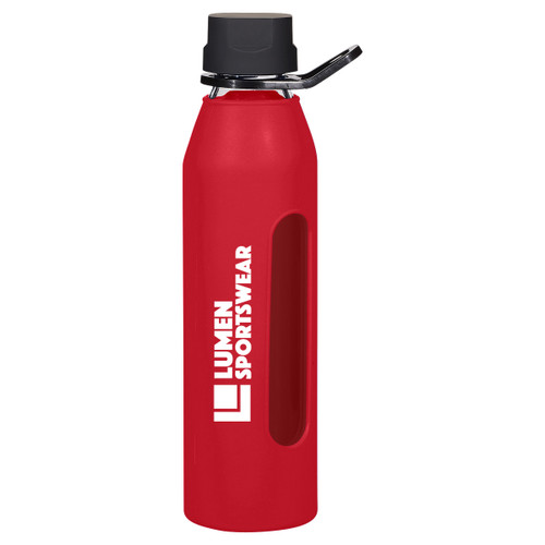 24 Oz. Synergy Glass Sports Bottle (01438-00); Primary; Decoration Type: Pad-Print