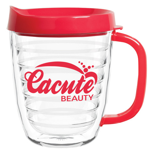 12 Oz. Acryline Coffee Mug (01612-00); Primary; Decoration Type: Silk-Screen