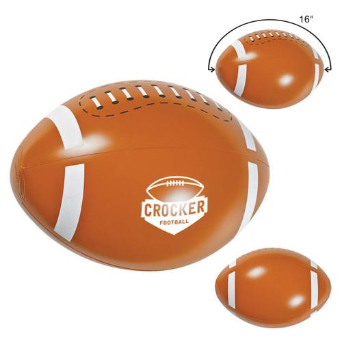 "16"" Football Beach Ball (01853-00); Primary; Decoration Type:"