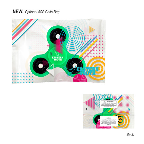 Glowing Fun Spinner (02085-00); Blank; Decoration Type: 4-Color Process