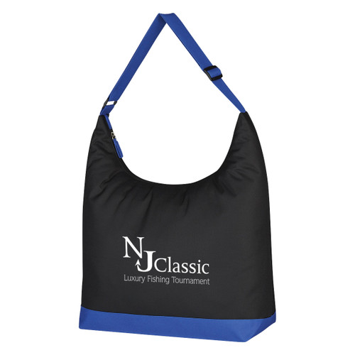 Accent Shoulder Tote Bag (02138-00); Primary; Decoration Type: Silk-Screen