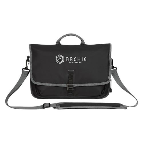Tech Messenger Bag (02183-00); Primary; Decoration Type: Silk-Screen