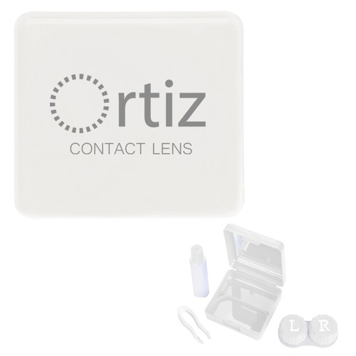 Contact Lens Kit With Mirror (02192-00); Primary; Decoration Type: Silk-Screen