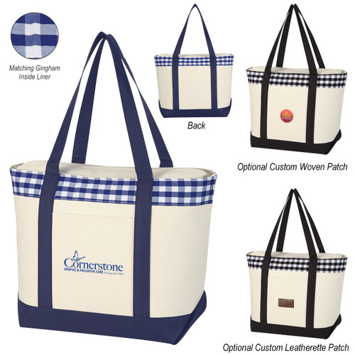 Vineyard Tote Bag (02234-00); Primary; Decoration Type: