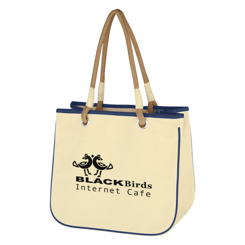 Tugboat Tote Bag (02312-00); Primary; Decoration Type: Silk-Screen