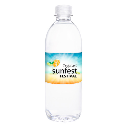 16.9 Oz. Purified Bottle Water (03083-00); Blank; Decoration Type: