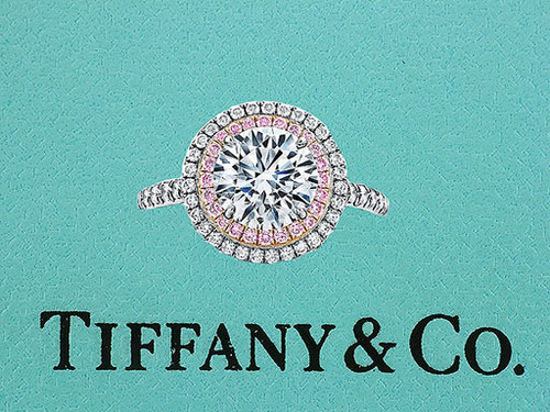 Tiffany & Co Soleste Engagement Ring with Pink Diamonds 1.83cttw H/VVS2 XXX