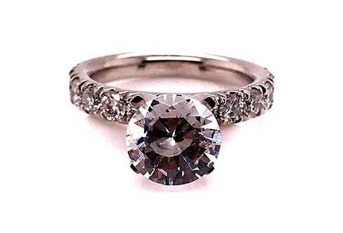 BRAND NEW Diamond Semi Mount Setting Engagement Ring 1.32ct 14K