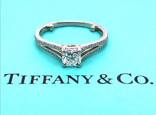 Tiffany and Co Lucida Engagement Ring .59cttw D / Flawless