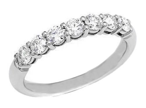 Modern Diamond Jewelry 1.00ct Diamond 14K White Gold Engagement Wedding Ring