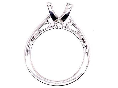 Verragio Semi Mount Diamond Engagement Ring Couture Line 18K New MSRP dollar2350
