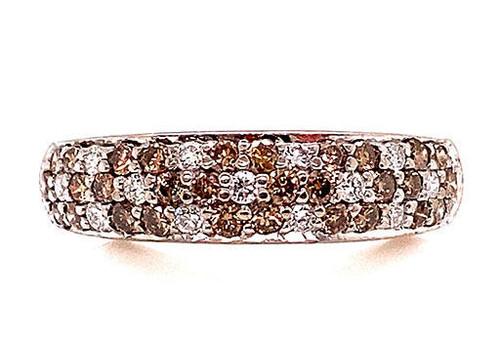 Levian Chocolate Diamond Wedding Ring Anniversary Band 1.18ct 14K dollar2,100 MSRP