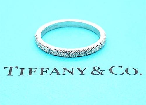 Tiffany and Co Soleste Diamond Band .22ct Platinum Wedding/Anniversary Ring Band