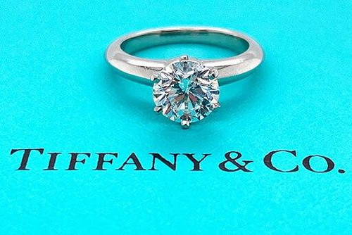 Tiffany and Co Tiffany and Co Engagement Ring 1.29ct F-VS1 Diamond Solitaire Platinum