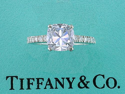 Tiffany & Co NOVO Engagement Ring Diamond 1.53ct H-VS1