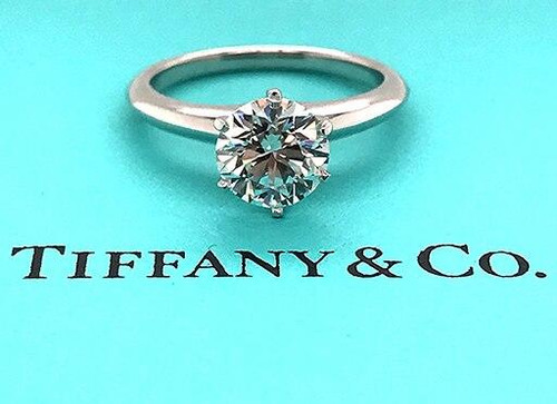Tiffany and Co Tiffany and Co Engagement Ring 1.54ct H-VS2 Solitaire Diamond