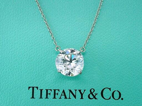 Tiffany and Co Tiffany and Co 2.60Ct Pendant Setting Necklace