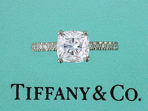 Tiffany & Co. NOVO Engagement Ring 2.32cttw I-VS1 Diamond