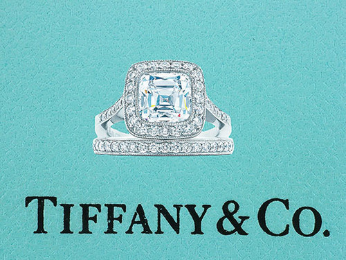 Tiffany & Co. Legacy Certified 1.91cttw Diamond Platinum Engagement Ring Set