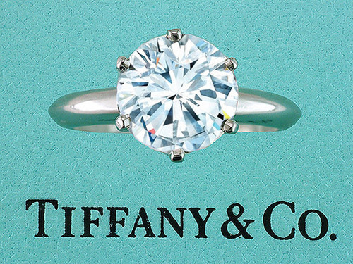 Tiffany & Co Engagement Ring Diamond Solitaire 3.18ct G-Internally Flawless XXX