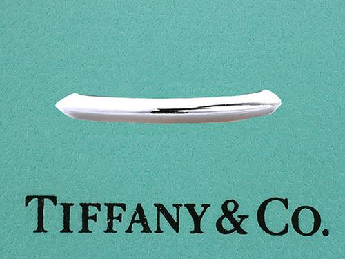 Tiffany & Co Platinum Band 2mm Knife Edge Wedding/Anniversary Ring
