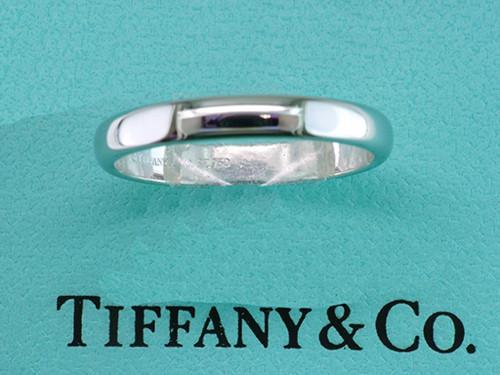 Tiffany & Co. Band Platinum Wedding/Anniversary Ring