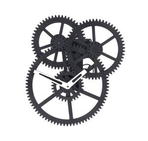 Triple Gear Wall Clock