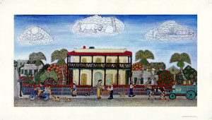 Hemingway Home Unsigned Print by Mario Sanchez