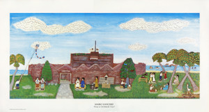 Fort East Martello Unsigned Print by Mario Sanchez