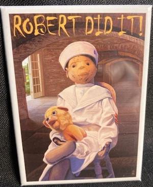 Robert The Doll Magnet