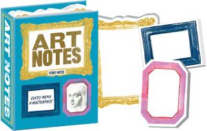 Art Notes -- Framed Sticky Notes Pad