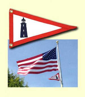 U.S. Lighthouse Service Pennant