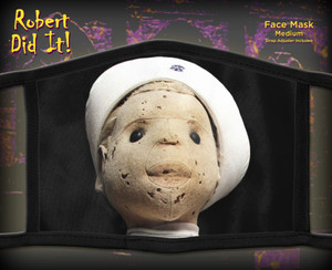 Robert The Doll Face Mask