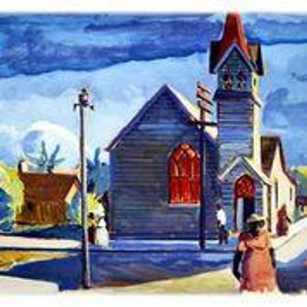 """Cuban Church Key West"" by Peter Rotier"