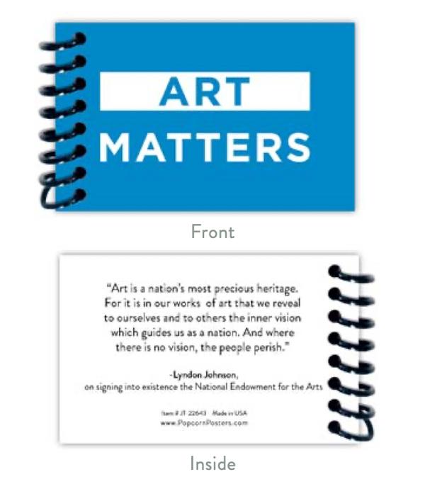 Art Matters Jotter Note Pad
