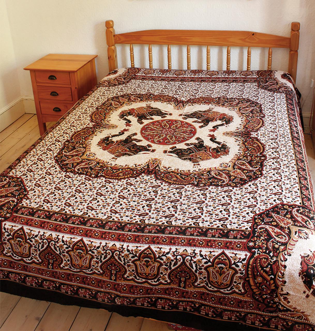 elephant bed linen