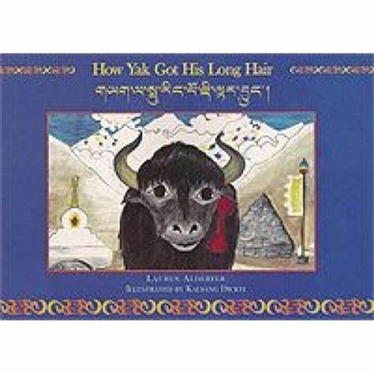 how the yak got his long hair