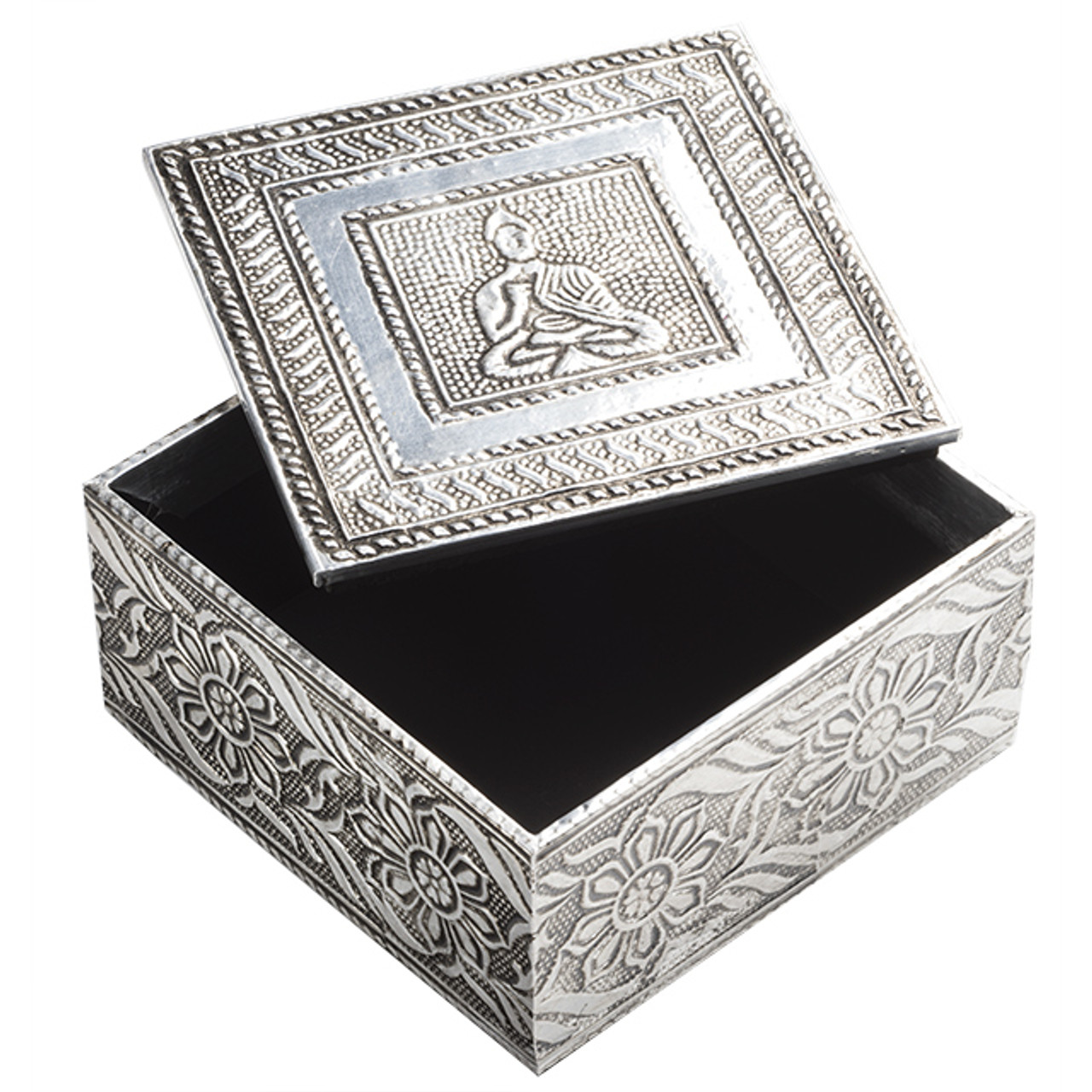 Embossed Buddha Design Box