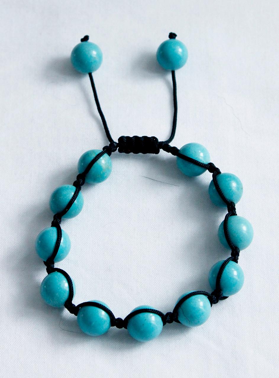 Torquoise shambala bracelet