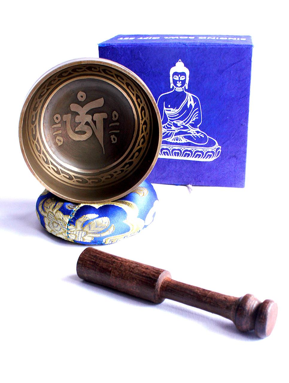 Small tibetan singing bowl