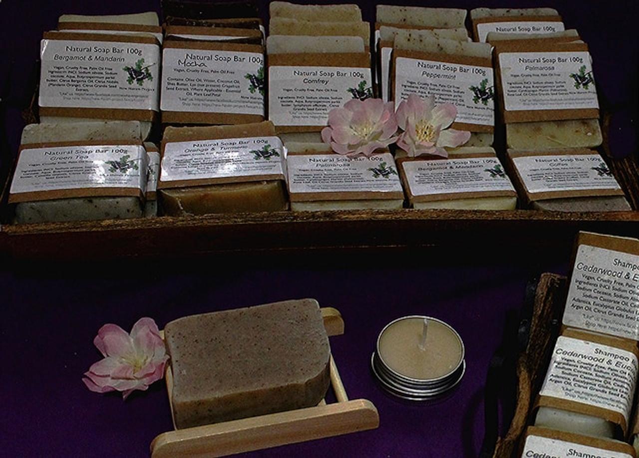 Natural olive soap bars