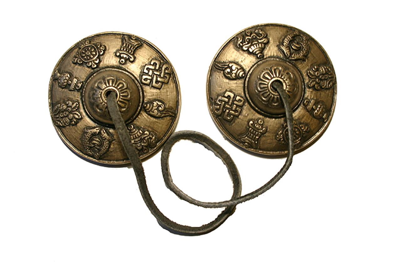 Tingsha, Tibetan bells with 8 Auspicious signs